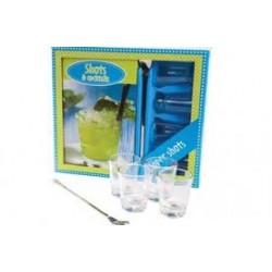 Shots & Cocktails boek box.