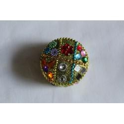 klein geel juwelendoosje