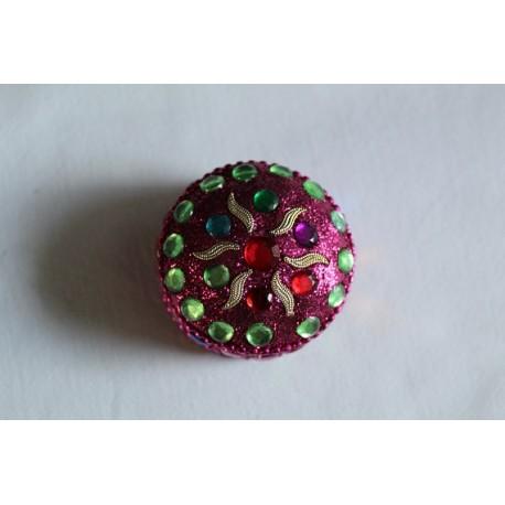 klein roze juwelendoosje