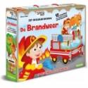 Puzzel brandweer van 12 reuzenstukken
