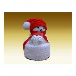 Kerstbeertje toweldoll