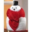 Towel doll Sneeuwman