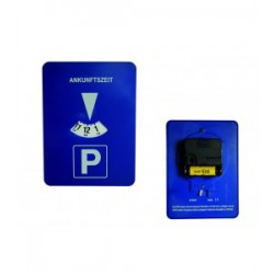 Parkeerschijf (op batterijen)