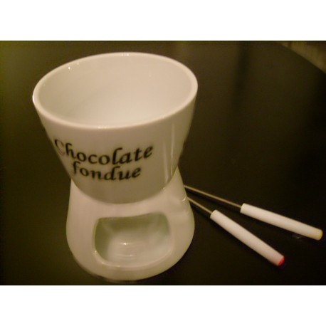 Chocolade fondue 2 persoons