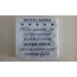 Hotel Mama servetten